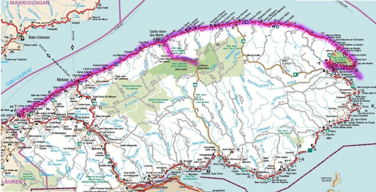 Gaspésie 2002